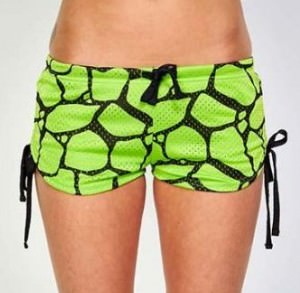 TMNT Turtle Shell Mesh Shorts
