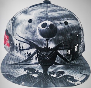 The Jack Skellington Snapback Cap
