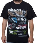 The Walking Dead Ringleader, Archer, Samurai And Kid T-Shirt