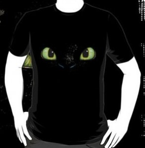 Toothless Big Face T-Shirt