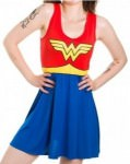 Wonder Woman A Line Dress
