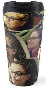 Orphan Black Cosima Niehaus Collage Travel Mug
