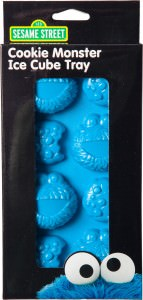 Cookie Monster Cookies and Face Ice Cube Tray