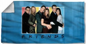 Friends Cast Towel