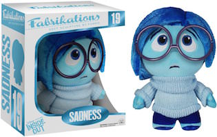 Inside Out Fabrikations Plush Of Sadness