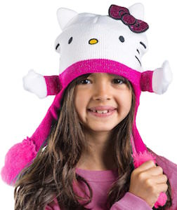 Hello Kitty Flipeez Beanie Hat