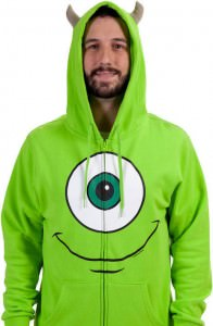Mike Wazowski Hoodie With Horns
