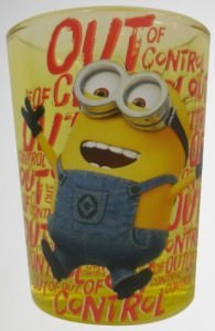 Minion Out Of Control Shot Glass