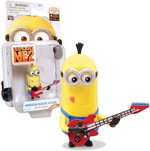 Despicable Me Minion Rockstar action figure