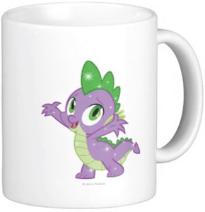 My Little Pony Spike The Dragon Mug