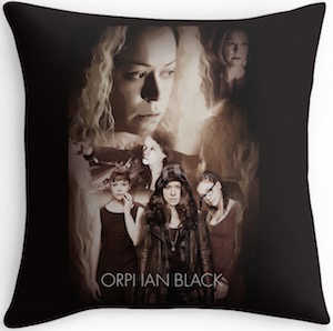 Orphan Black The Girls Throw Pillow