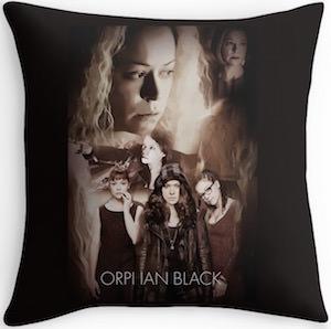 Orphan Black The Girls Throw Pillow
