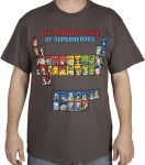 Periodic Table Of Superheroes T-Shirt