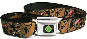 Scooby-Doo Seatbelt Style Belt