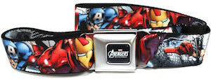 The Avengers Assemble Seatbelt Style Belt