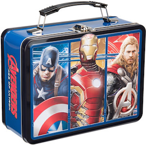 Avengers Age Of Ultron Metal Lunch Box