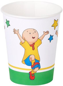 Caillou Paper Party Cups