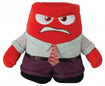 Inside Out Anger Plush Doll