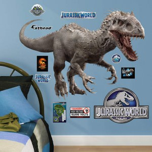 Jurassic World Indominus Rex Wall Decal Set