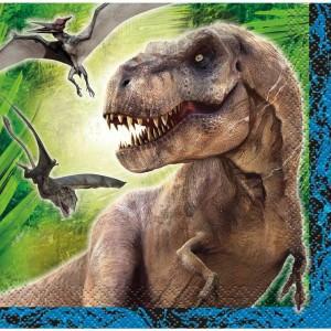 Jurassic World Large Party Napkins