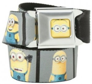 Minion Photos Seat Belt Style Belt
