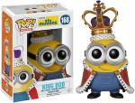 Minion King Bob Pop! Vinyl Figurine