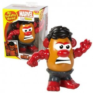 Marvel Red Hulk Mr. Potato Head
