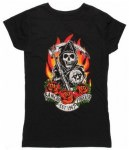 Samcro Forever Red Rose T-Shirt