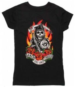 Samcro Forever Red Rose T-Shirt