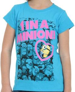 Kids One In A Minion T-Shirt