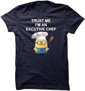 Minion Trust Me I'm An Excutive Chef T-Shirt