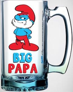Papa Smurf Beer Stein