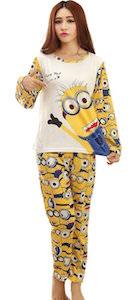 Love You Forever Minion Pajama