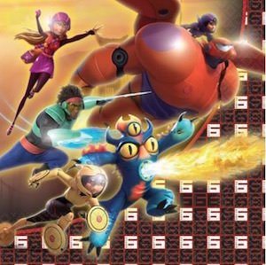Big Hero 6 Party Napkins
