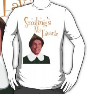 Buddy The Elf Smilings My Favorite T-Shirt
