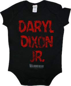 The Walking Dead Daryl Dixon Jr. Baby Bodysuit