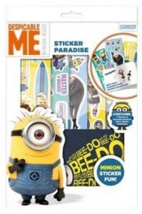 Despicable Me Minion Sticker Fun