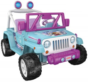 Disney Frozen Jeep Wrangler Power Wheels