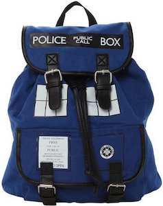 Doctor Who Tardis Slouch Backpack
