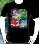 Inside Out Mixed Emotions Paint Splatter T-Shirt