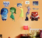 Inside Out Characters Wall Decal