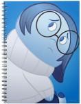 Inside Out Sadness Spiral Notebook