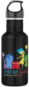 Inside Out Every Day Is Full Of Emotions Water Bottle