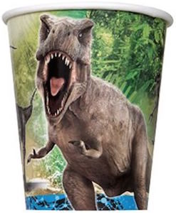 Jurassic World Paper Party Cups