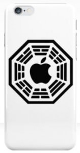 Lost Dharma Initiative Apple iPhone Case