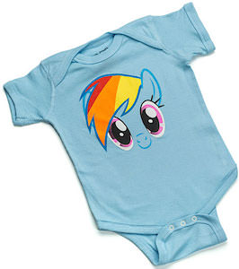 Rainbow Dash Baby Bodysuit