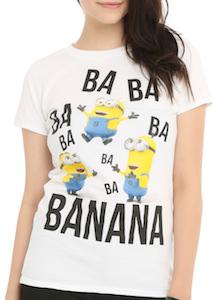 Ba Ba Ba Banana Minion women's T-Shirt