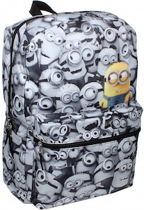 Despicable Me Minion All Over Backpack