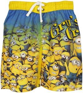 Minions Gru's Crew Boys Swim Shorts
