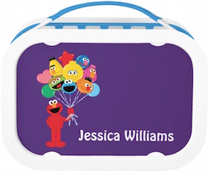 Personalized Elmo Lunch Box